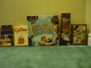 Board games, Card games and Poker Chips