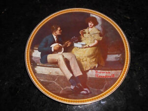 5 Norman Rockwell collectible plates London Ontario image 3