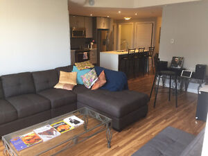 Beautiful 1 bed + den on Almon st. Sub-let/lease assignment