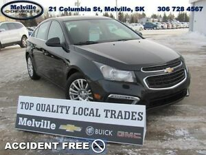 2015 Chevrolet Cruze ECO   2 SETS OF TIRES* FOG LAMPS*BLUETOOTH