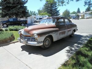 1949 MERCURY MONARCH SPORT SEDAN $3500.00