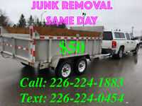 JUNK REMOVAL - SAME DAY-24/7