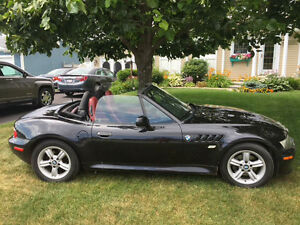 2000 BMW Z3 Black Convertible