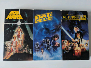 Star Wars original VHS