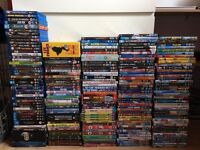Large DVD & Blu Ray collection