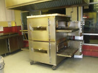 Lincon conveyer ovens with hood and fire supression