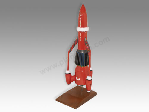Gerry Anderson Thunderbird Thunderbirds 3 Handcrafted Solid Wood Display Model