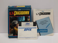 L.A. Crackdown boxed for Commodore 64