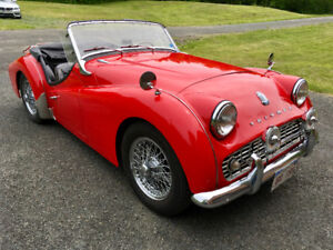 Fully Restored 1959 Triumph TR3A