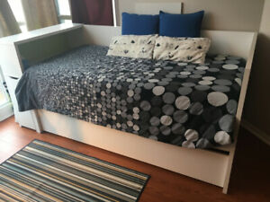 Near Brand New Ikea Daybed Designed for Ultimate Functionality