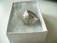 Beautiful made in Italy ladies Sterling Silver Ring