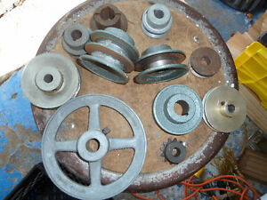 Pulleys & Bearings