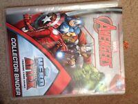 Marvel avengers Hero attack's card book