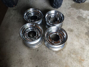 Chrome rims for Polaris sportsman HO