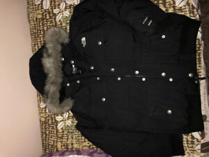 Black North Face Bomber Jacket - KIDS XL, WILL Fit MENS XS or S