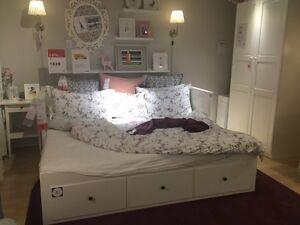 IKEA Hemnes bed. Twin/double/queen/king