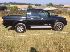 2005/55 plate Mitsubishi warrior l200