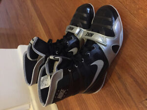 Nike Hyper KO blk/silver NEW Mens Boxing shoes size 9