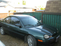 1998 Plymouth Neon Coupe (2 door)