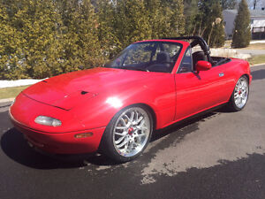 1990 Turbo Mazda MX-5 Miata Convertible