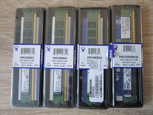 Kingston 4GB NON-ECC PC3-10600 RAM
