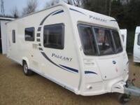 Bailey Pageant Sancerre Ser 7 2009 4 Berth Fixed Bed Single Axle Touring Caravan
