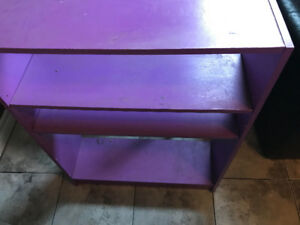 Purple Children's Bookshelf