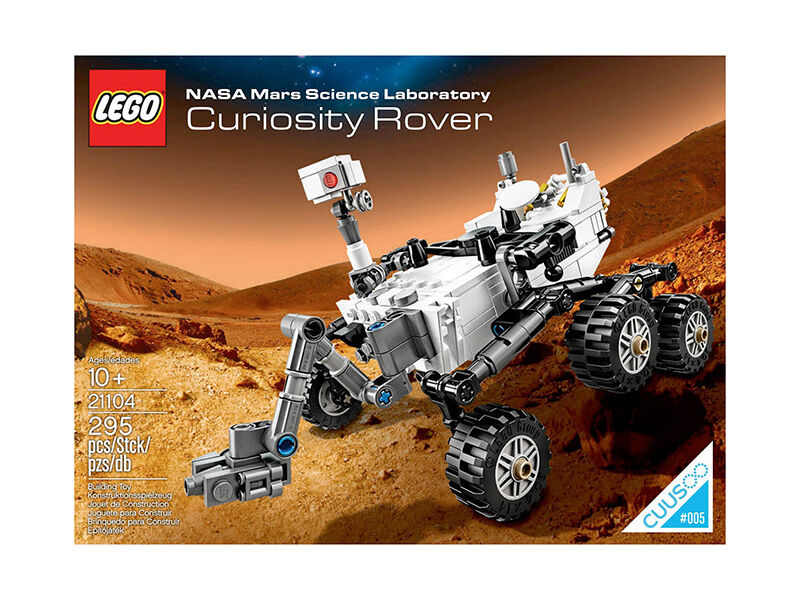 Lego Ideas NASA Mars Science Laboratory Curiosity Rover