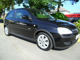 VAUXHALL CORSA 1.4i 16v 2006 SXi ONLY 59000 MILES COMPLETE WITH M.O.T HPI CLEAR