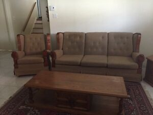 Sofa and Coffee Tables
