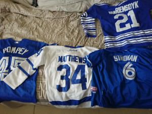 Toronto maple leafs and Toronto Blue Jays Jerseys