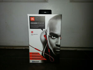 JBL SYNCHROS REFLECT BT SPORT WIRELESS RED HEADPHONES