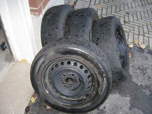 **** Rims and Uniroyal Tiger Paw tires *** Kitchener / Waterloo Kitchener Area image 2