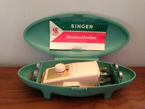 Antique Singer Buttonholer