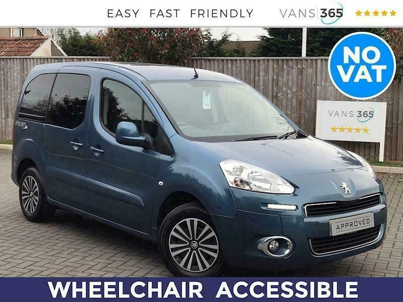 2015 Peugeot Partner 1.6Hdi Tepee S Wheelchair Acces MPV Diesel Manual