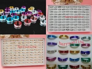 500 pcs Mixed Alu fashion styles aluminum JEWELRY JOB LOT
