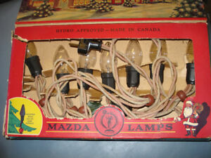 Vintage Noma Outdoor Christmas Lights