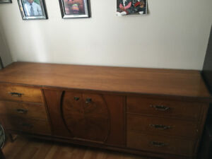Brown Dresser with several drawers