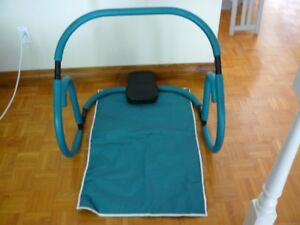 Ab Roller et tapis d'exercice
