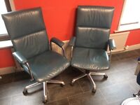 Pair of gas lift chairs
