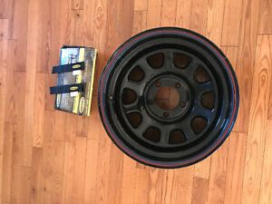 Jeep rim and jeep door straps - make an offer.