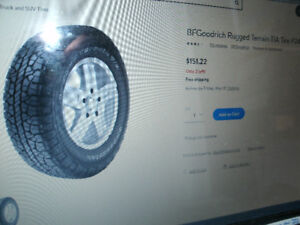 TRUCK Tires ...I have NEW Goodyear Wranglers ....see list....