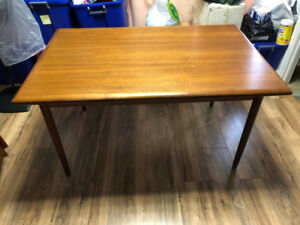 Teak table  ONLY - $749-Dixie and Dundas pick up