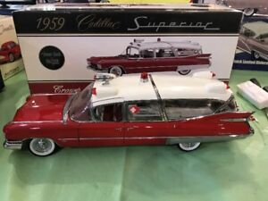 Ambulance Cadillac 1959 precision 100 diecast 1/18 die cast