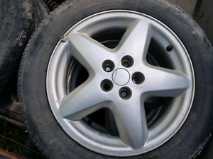Summer tires and 16  rims for 03 Sunfire