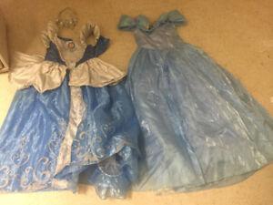 Beautiful Cinderella Disney Dress up Outfit size 8