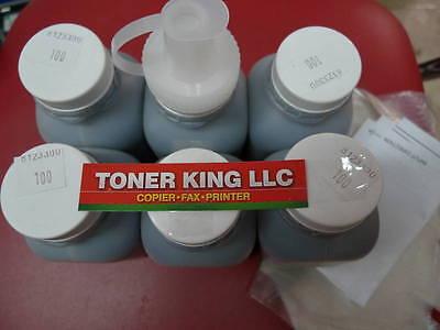 90g 6 Hy Toner Refills + 6 Fuse For Samsung Ml-1640 Ml-22...