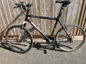"22"" frame Mountain bike. Requires repairs."