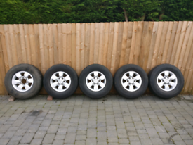Toyota Hilux / Hi-lux alloy wheels, full set of 5