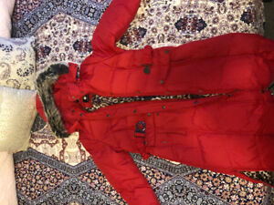 Jessica long winter coat for women. Excellent condition, size L